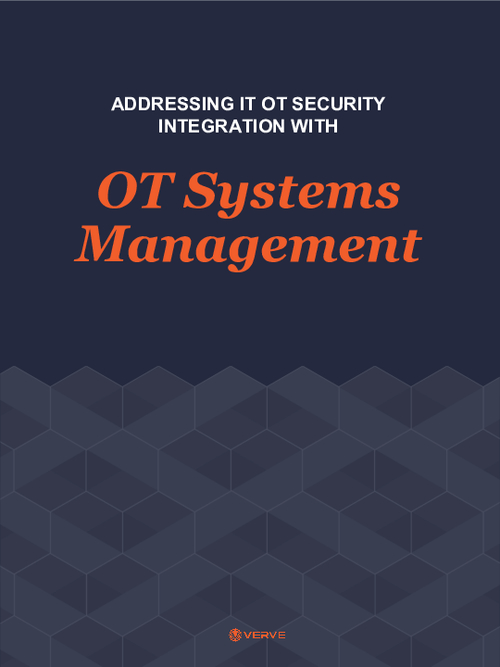 Addressing IT OT Security Integration with OT Systems Management