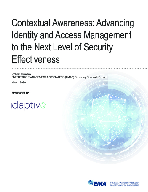 Advancing Identity & Access Management to the Next Level of Security Effectiveness