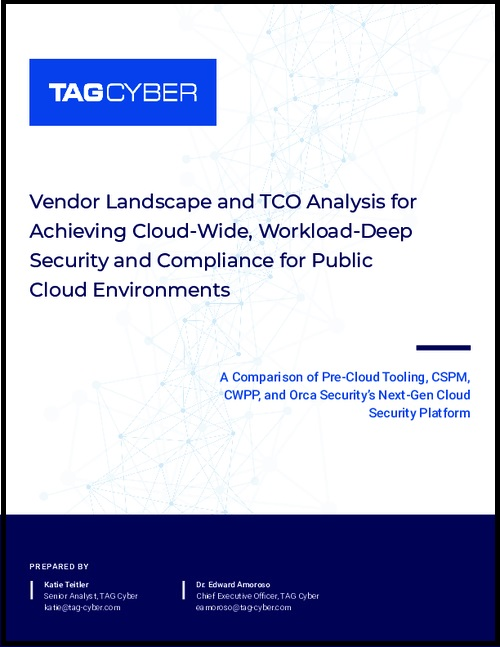 Analyst Report: Vendor Comparison and TCO Analysis of Public Cloud Security Tools