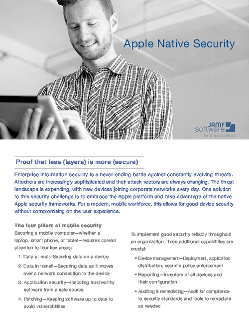 Apple Native Security