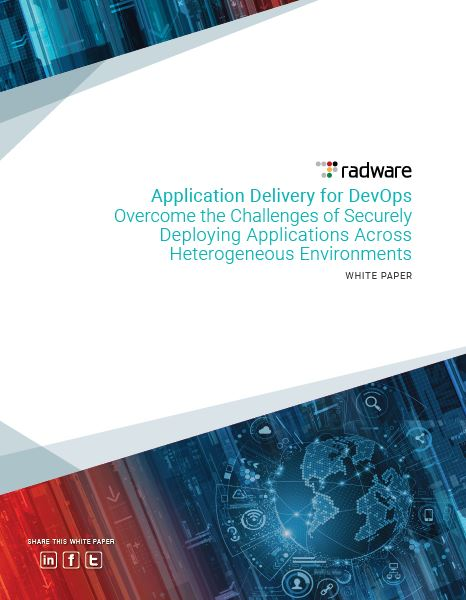 Application Delivery for DevOps: Overcome the Challenges of Securely Deploying Applications Across Hybrid Environments
