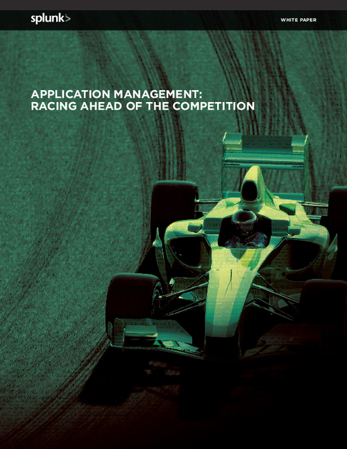 Application Management Racing Ahead of the Competition