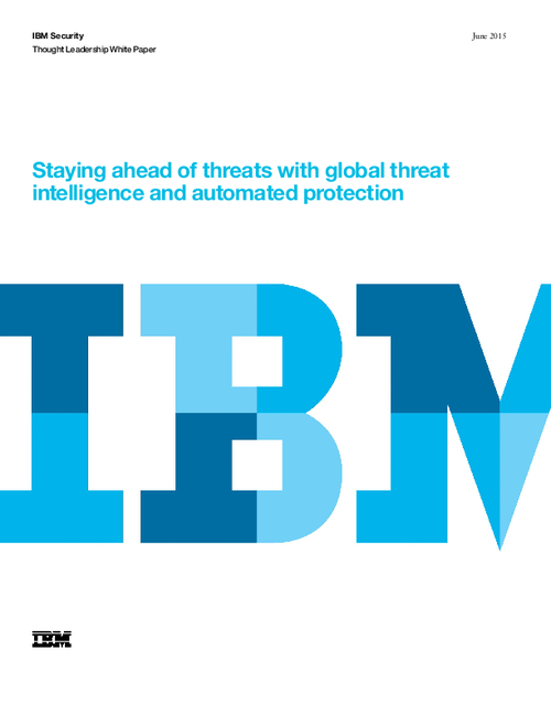 Are you ahead of threats? Global Threat Intelligence & Automated Protection