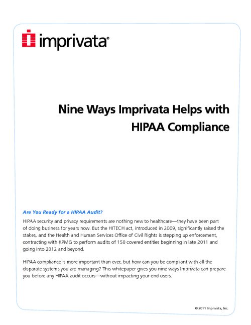 Are You Ready for a HIPAA Audit?  Sure About That?