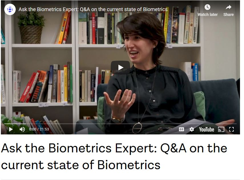 Ask the Biometrics Expert: Q&A on The Current State of Biometrics