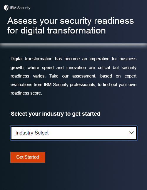 Assess Your Security Readiness for Digital Transformation