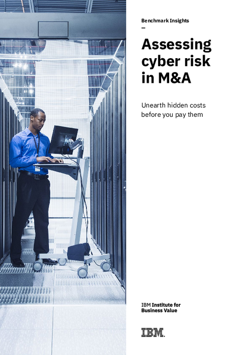Assessing cyber risk in M&A