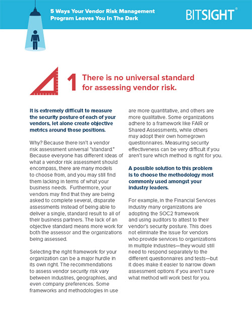 Assessing Vendor Risk: Challenges and Tips
