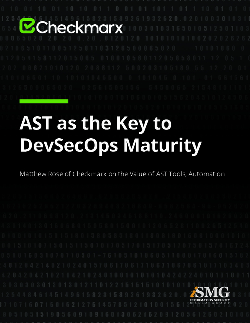 AST as the Key to DevSecOps Maturity