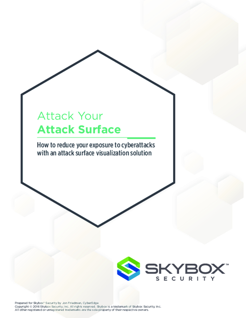Attack Your Attack Surface: Reduce Cyberattacks with Better Visualization