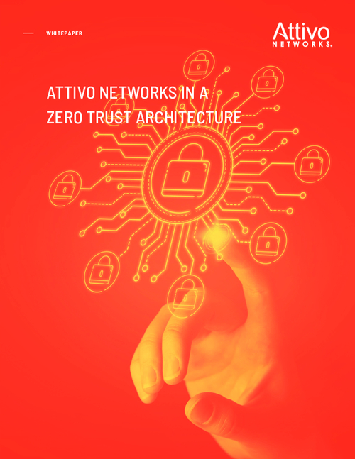 Attivo Networks in a Zero Trust Architecture