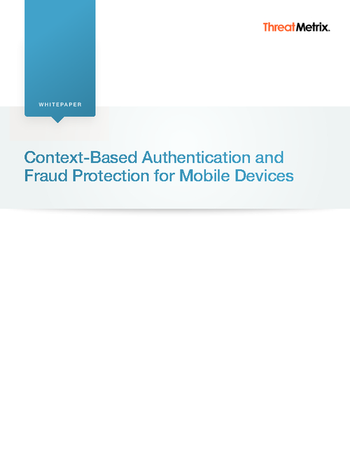 Authentication and Fraud Protection for Mobile Devices