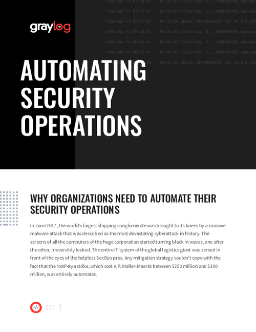 Automating Security Operations