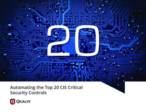 Automating the Top 20 CIS Critical Security Controls