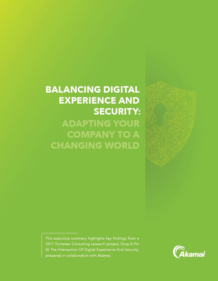 Balancing Digital Experience and Security
