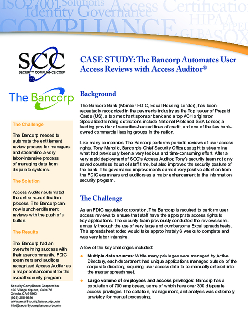 Case Study | How to Automate User Access Reviews