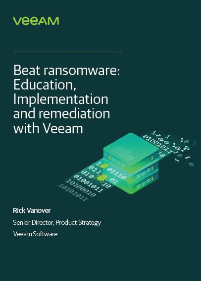 Beat Ransomware: Education, Implementation and Remediation with Veeam