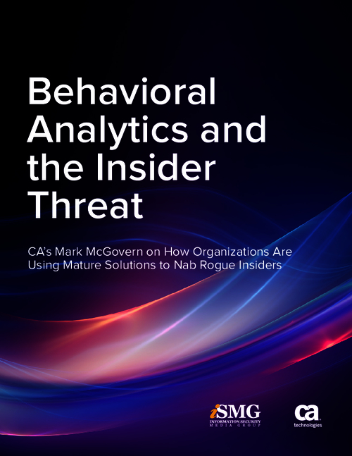 Behavioral Analytics and the Insider Threat