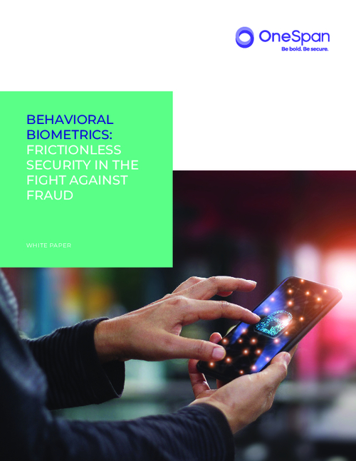 Behavioral Biometrics: Frictionless Security In The Fight Against Fraud