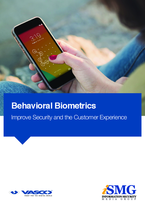 Behavioral Biometrics: Improve Security and the Customer Experience
