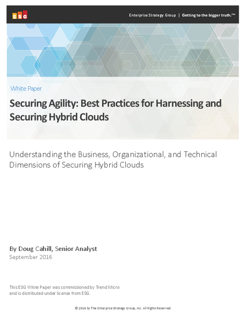 Best Practices for the Alignment of Hybrid Cloud Security Initiatives
