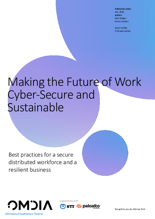 Best Practices for a Secure Distributed Workforce and a Resilient Business