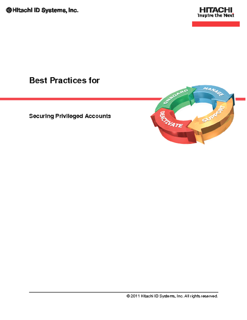 Best Practices for Securing Administrative Privileges & Preferences