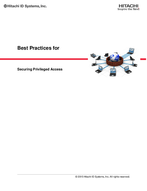 Best Practices for Securing Privileged Access
