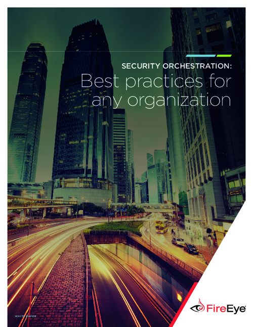 Best Practices for Security Orchestration