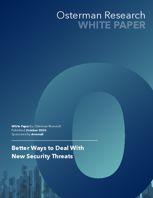 Better Ways to Deal with New Security Threats