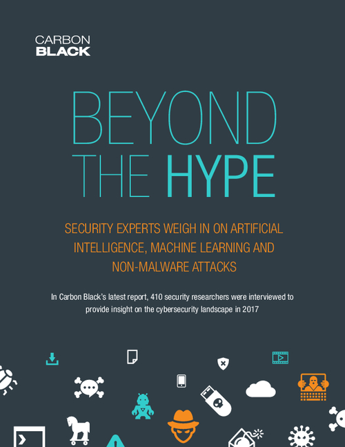 Beyond the Hype: Artificial Intelligence, Machine Learning and Non-Malware Attacks Research Report