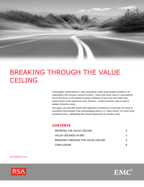 Breaking Through the GRC Value Ceiling