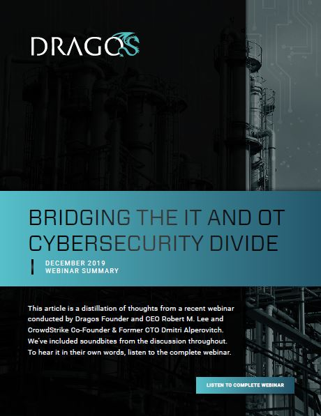 Bridging the IT and OT Cybersecurity Divide