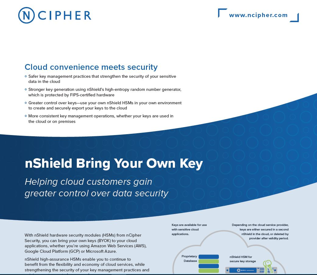 Bring Your Own Key (BYOK): When Cloud Convenience Meets Security
