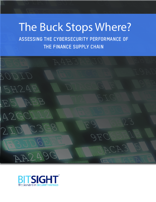 The Buck Stops Where? Assessing the Cybersecurity Performance of the Finance Supply Chain