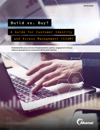 Build vs. Buy: A Guide for Customer Identity and Access Management