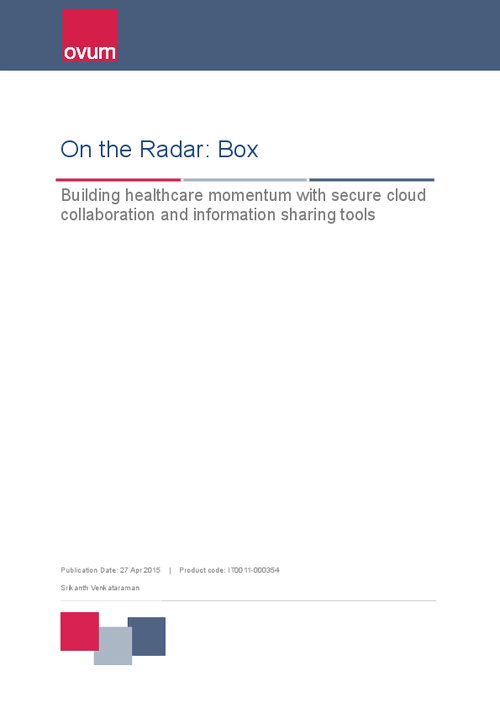 Building Healthcare Momentum with Secure Collaboration Sharing Tools