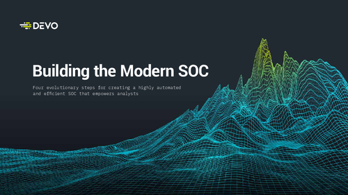 Building the Modern SOC