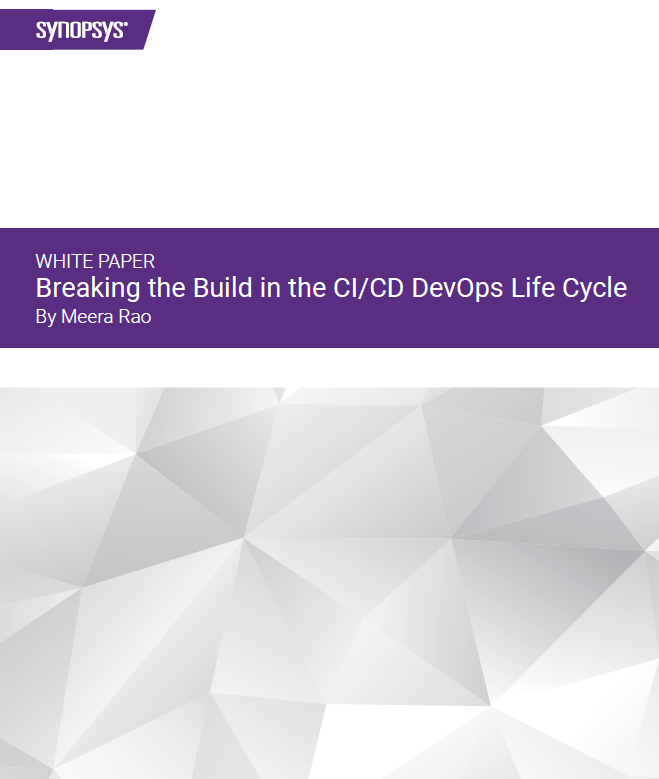Building Security into the DevOps Life Cycle