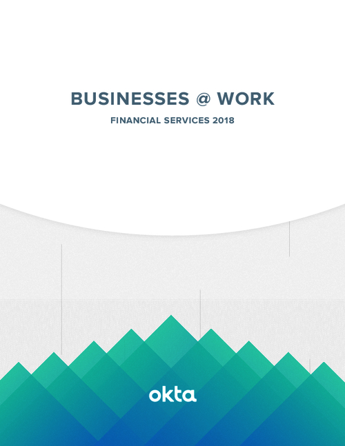 Businesses @ Work: Analyzing the Apps and Services of Finance Industry 2018