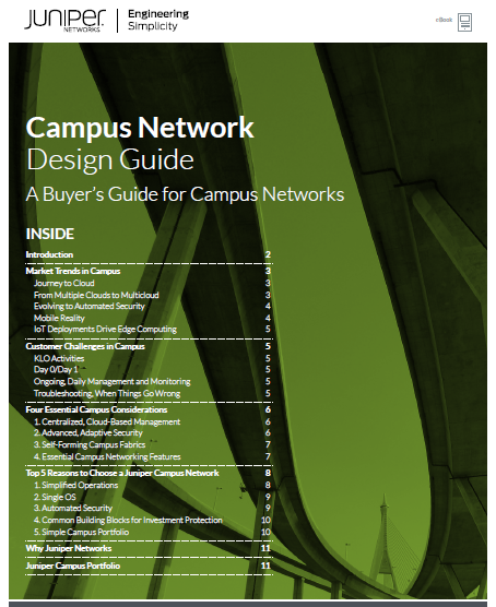 A Buyer's Guide for Campus Networks