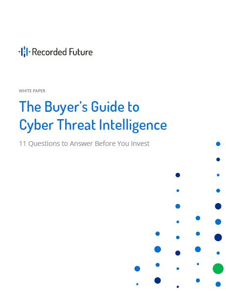The Buyer's Guide to Cyber Threat Intelligence