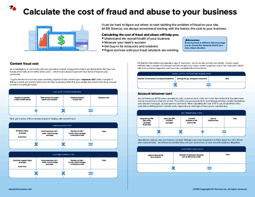Calculating The Cost of Fraud and Abuse to Your Business
