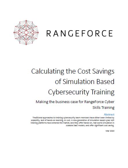 Calculating the Cost Savings of Simulation-Based Cybersecurity Training