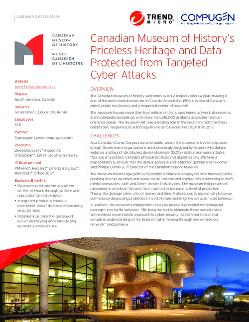 Canada Case Study: How an SMB Fully Integrated Their Security Defenses