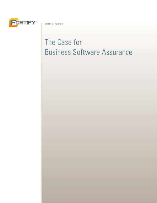 The Case for Business Software Assurance