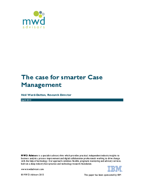 The Case For Smarter Case Management