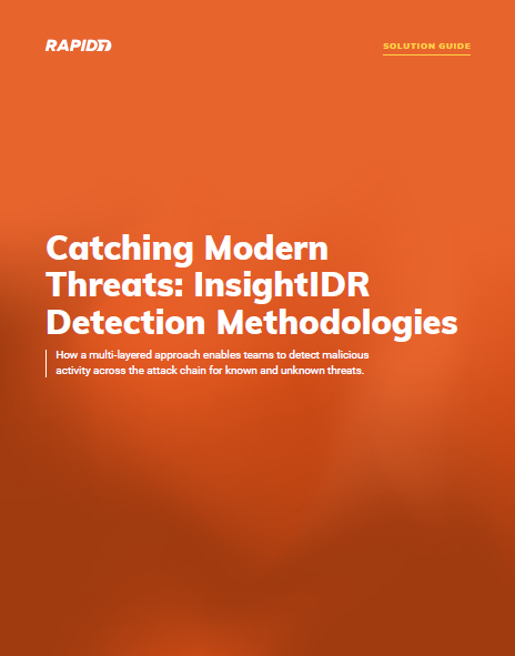 Catching Modern Threats: InsightIDR Detection Methodologies