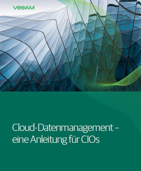 The CIO's Guide to Cloud Data Management (German Language)