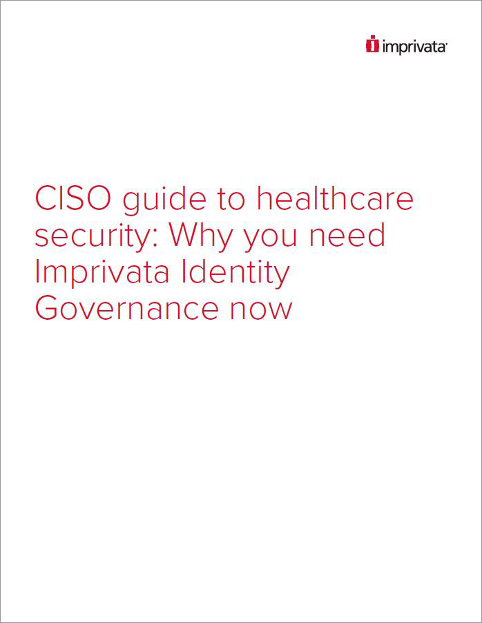 CISO Guide to Healthcare Security